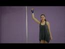 Видеурок pole dance на цирковой петле от Калашник Татьяны Учимся танцевать