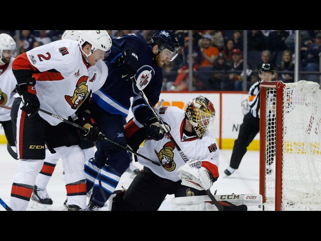 Perreault scores game-winner as Jets hands Senators fourth-straight loss