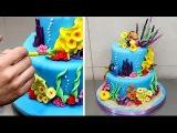 Finding Nemo Cake - How To Make by CakesStepbyStep