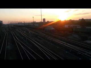 Маневровая работа на станции Ульяновск-Центральный