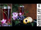 How to paint a Wine Glass Vines and Still Life Background LIVE