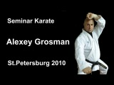 Seminar 4 Alexey Grosman Karate St Petersburg 2010 (Гросман Алексей Маркович)