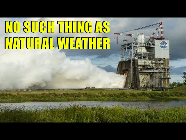 Proof of Weather Modification   NASA, HAARP Chemtrail Technology ▶️️