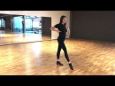 Katya Jones - Technique - basic movement rumba / cha cha