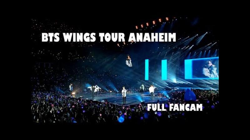 BTS Wings Tour in Anaheim (full fancam)