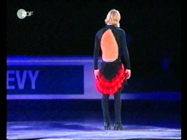 Evgeny Plushenko Asisiay Exhibitions 2004 Worlds
