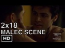 Shadowhunters 2x18 Alec and Magnus Make Out and Kissing Malec Scene Season 2 Episode 18
