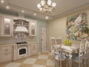Кухни прованс - дизайн кухни в прованском стиле