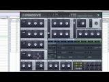 TUTORIAL Make a HARD CRISPY Electro Bass in MASSIVE
