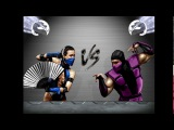 Kitana &amp Sindel vs Rain &amp Kabal. Mortal Kombat CPU vs CPU. 1st Tag Team Cup. 18 Final