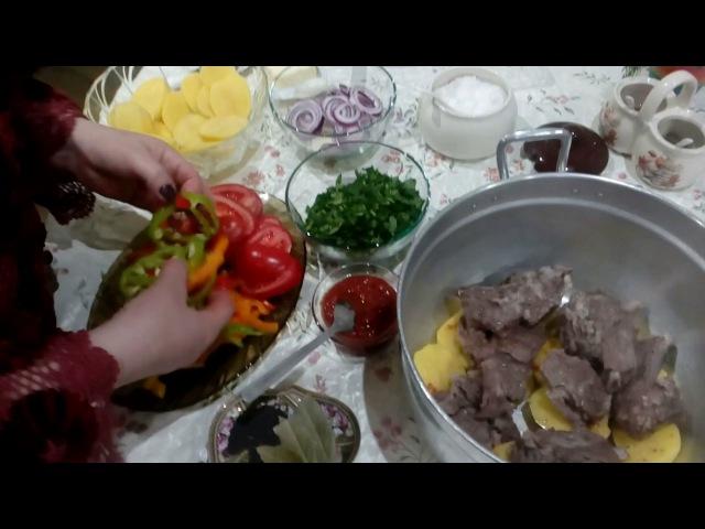 ԽԱՇԼԱՄԱ (շերտավոր) - Хашлама - Khashlama