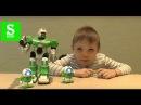 Супер Роботы Боксеры на Радиоуправлении RC Fighting Robot Wars Sasha Kids