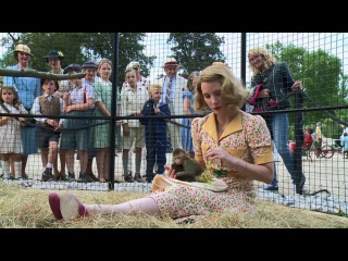 The Zookeeper's Wife Featurette - Meet Antonina Zabinska (2017) - Jessica Chastain Movie