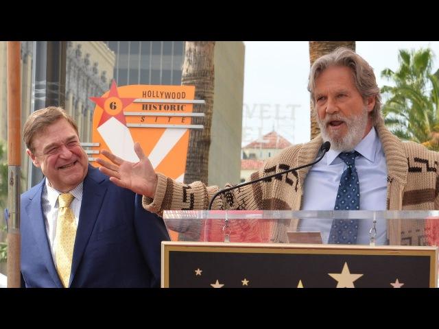 Jeff Bridges revives The Dude to honor his Big Lebowski co-star John Goodman