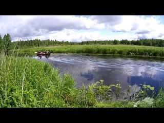 Сплав по реке Нища