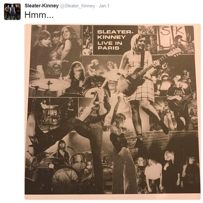 Live-альбом Sleater-Kinney