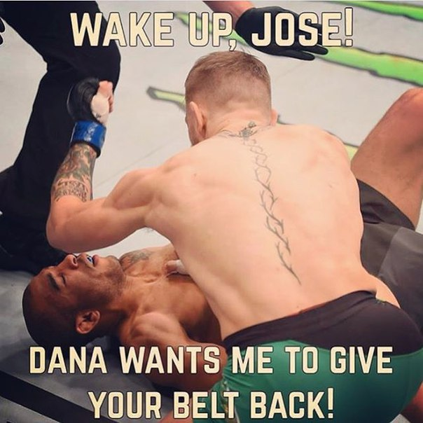 💥 Просыпайся, Жозе! Дэйна сказал отдать тебе твой пояс обратно(((