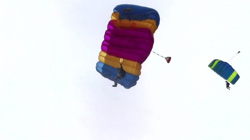 Прыжок на точность приземления (18.06.17)