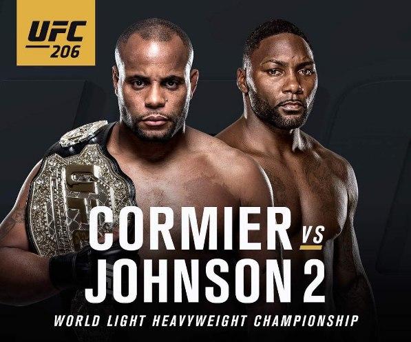 🔥 Даниэль Кормье травмирован и выбывает из турнира UFC 206.