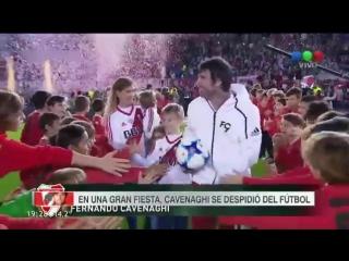 В Аргентине прошел прощальный матч экс-форварда «Спартака»