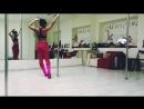 Пример начинающим у меня на тренировке Exotic pole dance новички 👶miridance