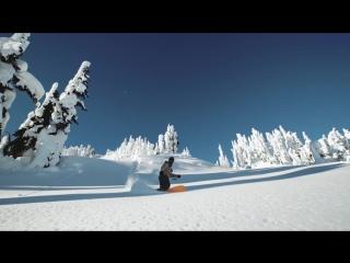 Powder Surfing in the Whistler Backcountry _ Shot in 4k