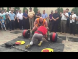 Заруба Кокляев против всех. г. Кизляр , Дагестан. тяга 380 кг