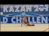 Дина Аверина - обруч (финал) // World Challenge Cup 2017, Казань