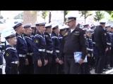 Репетиция торжественных мероприятий Нахимовского военно-морского училища к 1 сентября. Прямая трансляция