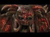 Алгрим Сильный сбегает из тюрьмы и освобождает остальных заключенных в Асгарде. Тор 2 Царство тьмы.