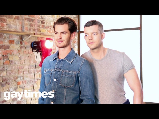 Angels in America with Andrew Garfield and Russell Tovey - Gay Times Cover Shoot