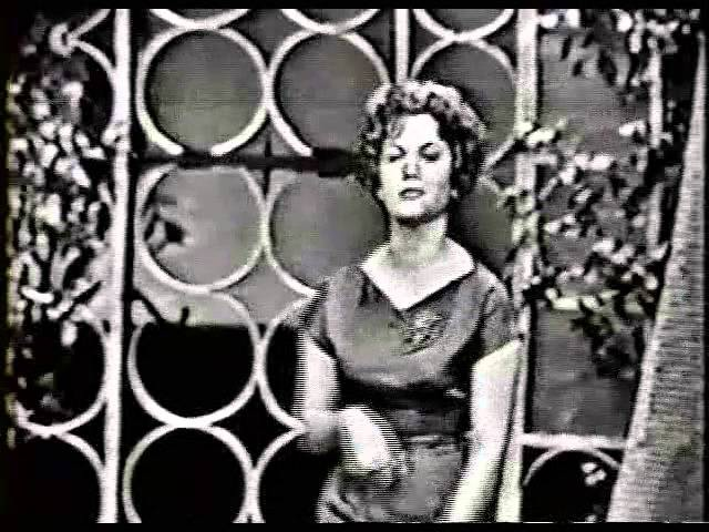 CONNIE FRANCIS ON TV LIPSTICK ON YOUR COLLAR 1959