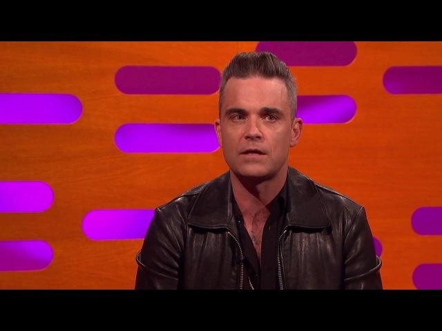 Robbie Williams tells hand job story with JustinTimberlake, Daniel Radcliffe, Anna Kendrick.