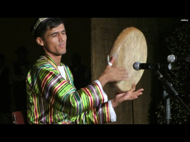 Uzbek music Doira solo