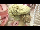Hairstyles for long hair tutorial. Wedding prom updo.