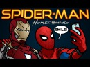 Spider Man Homecoming Trailer Spoof TOON SANDWICH
