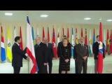 Как это было Установка Флагов Крыма и Севастополя в Совете Федерации