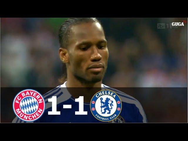 Bayern Munich vs Chelsea 1-1 (pen 3-4) - UCL 2012 FINAL - Full Highlights (English Commentary) HD