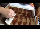 Ako pripraviť čokoládové ozdoby na tortu? - čokoláda okolo torty / chocolate decoration/ 2.časť
