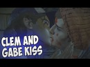 Clementine and Gabe Kiss The Walking Dead Season 3 Episode 5