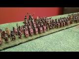 Hail Caesar Battle Report  - Imperial Romans vs Parthians 400pts (Test Game)