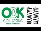 Пружины OBK - настоящее японское качество!!!