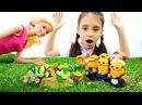 Игры Барби 🌸 Кто украл цветы Барби Новая серия Куклы Видео для Детей с Игрушка...