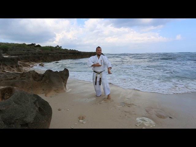 Kata Sanseiryu / Uechi Ryu Karate do / Pacific, Okinawa