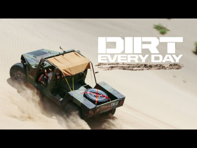 Army Surplus Humvee Built to Rockcrawl—Awesome or Awful? - Dirt Every Day Ep. 67