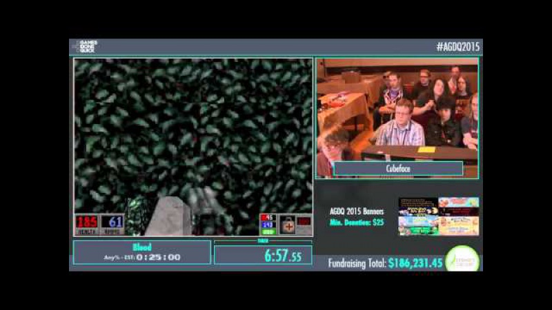 AGDQ 2015 Blood Speed Run in 0:19:03 by Cubeface AGDQ2015