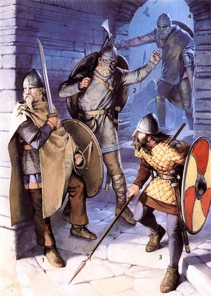 the conquests of the vikings in the 8th and 9th century ad The vikings (9th-11th in england desultory raiding occurred in the late 8th century but began the scandinavian conquests in england left deep marks on.