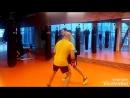 Вторая тренировка с Alessandro. Гость из Италии левша , схватывает все на лету! Ukrainian boxing school