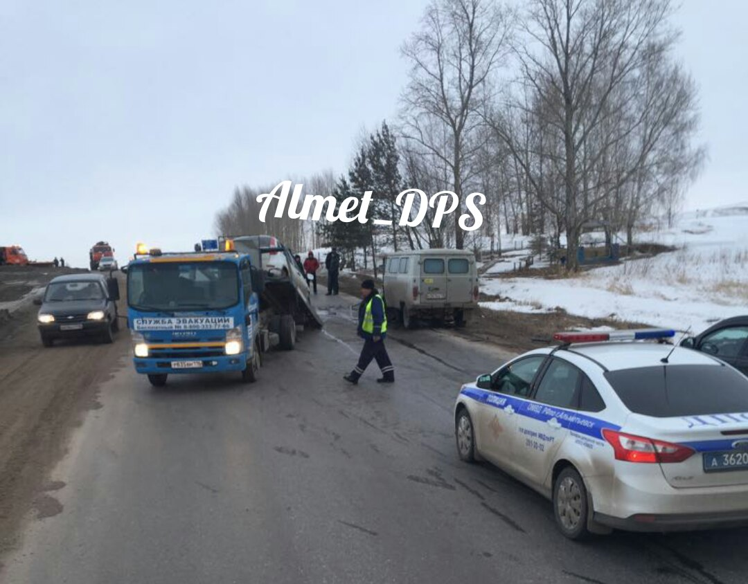 Натрассе «Альметьевск-Азнакаево» случилось смертельное ДТП