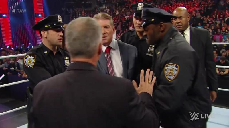 WWE.COM RAW: Mr. McMahon Arrested (12/28/2015)